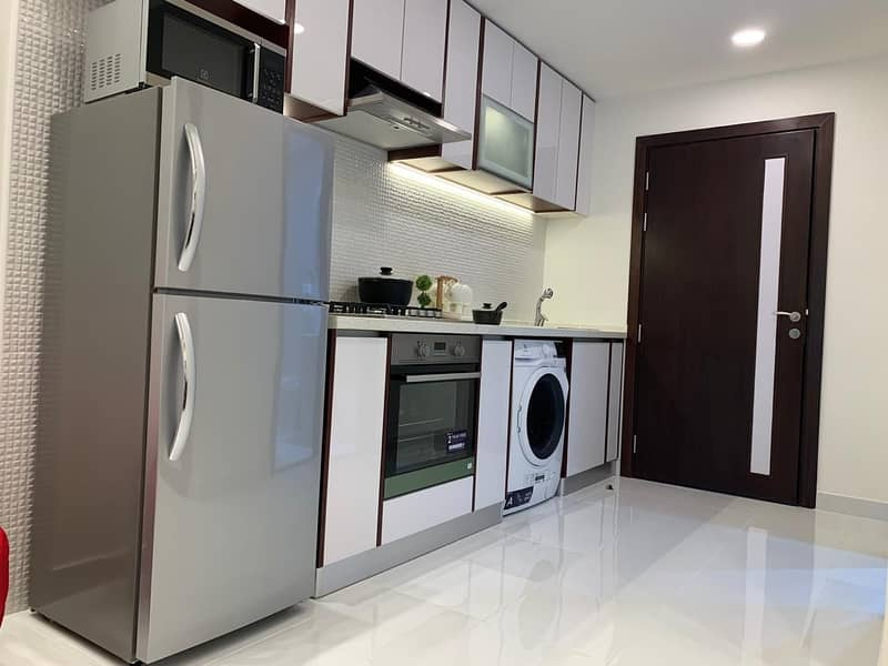 9 own studio for 3500AED MONTHLY  FOR 6 YEARS