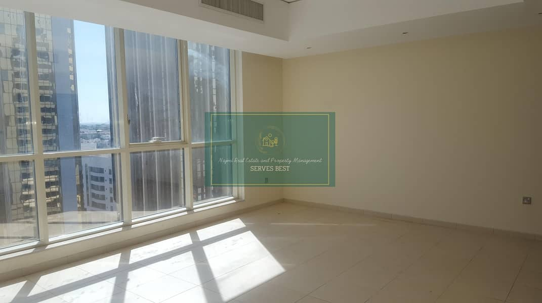 2 3 Beds/Maid! All Facilities in Khalidiah Corniche