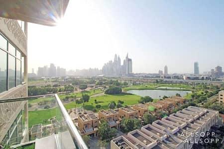 شقة 2 غرفة نوم للبيع في ذا فيوز، دبي - Stunning Golf View | Tenants | Study Room