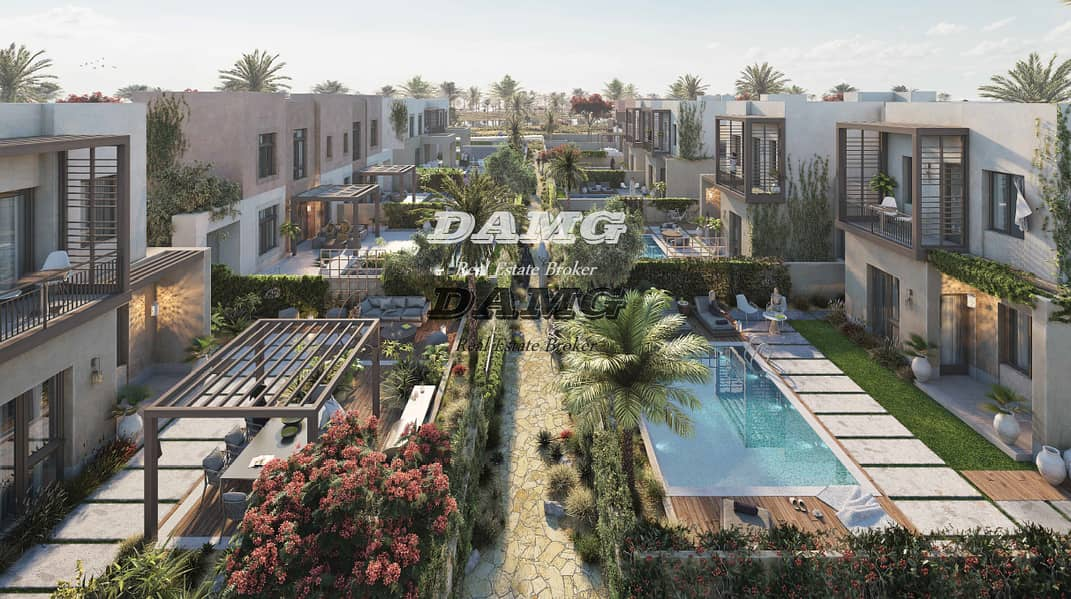 2 BR Luxury Villas WITH Private Pool & 6 Years Payment Plan