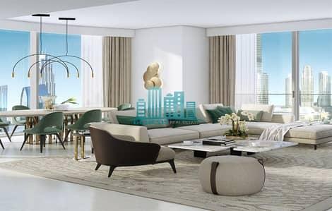 فلیٹ 4 غرفة نوم للبيع في وسط مدينة دبي، دبي - High Floor 70th