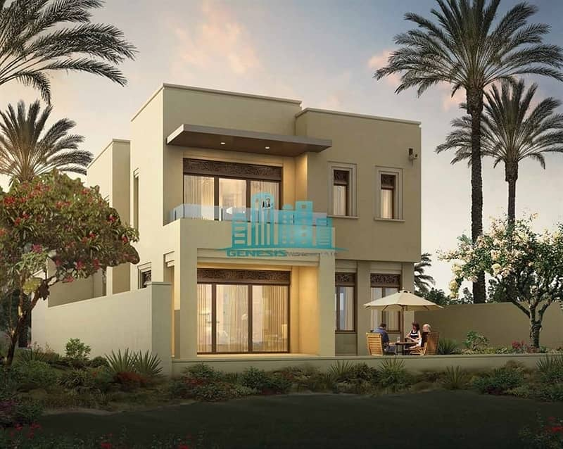 2  3BR + Maid in Arabian Ranches 2