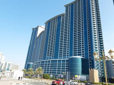 2 Bedroom Apartment for Rent in Corniche Ajman, Ajman - SEA VIEW. . . . . . 2 BHK for RENT in Ajman Corniche Residence