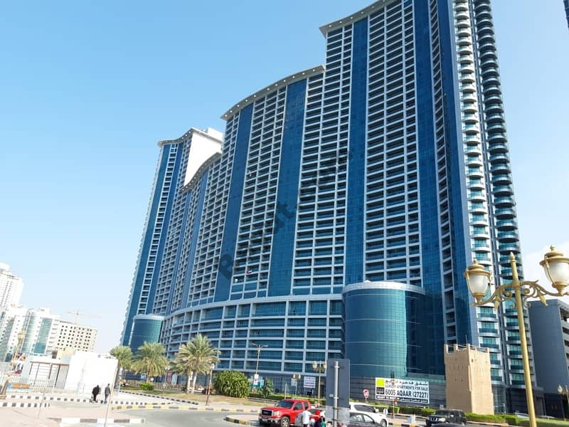 SEA VIEW. . . . . . 2 BHK for RENT in Ajman Corniche Residence