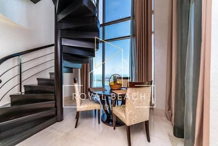 بنتهاوس 1 غرفة نوم للايجار في جي بي ار، دبي - Extraordinary penthouse with Sea and Palm view