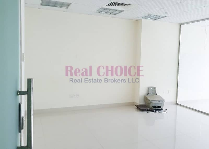 Fitted Office With 4 Partition Partial Lake View