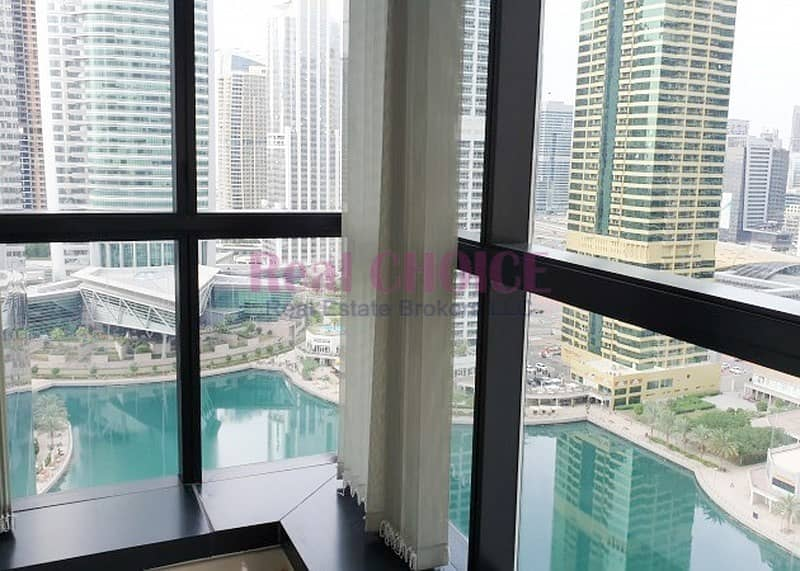 12 Fitted Office With 4 Partition Partial Lake View