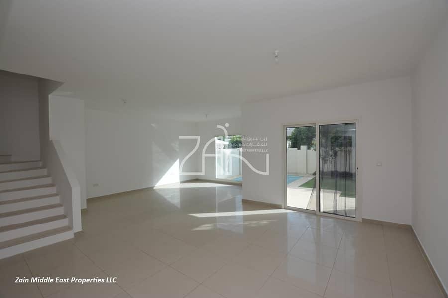 2 Exclusive!  Corner Single Row 5 BR Villa with Pool