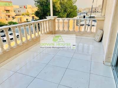 Studio for Rent in Khalifa City A, Abu Dhabi - Royal vip studio with amazing balcony in khalifa city a near al forsan