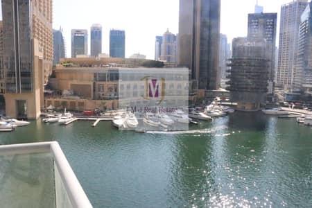 شقة 1 غرفة نوم للايجار في دبي مارينا، دبي - 1 BEDROOM FULL MARINA VIEW