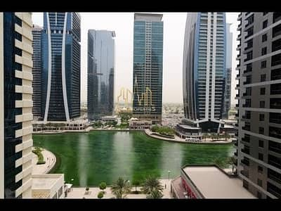 2 BR fully furnished  lake  view  + SHK Zayed road facing