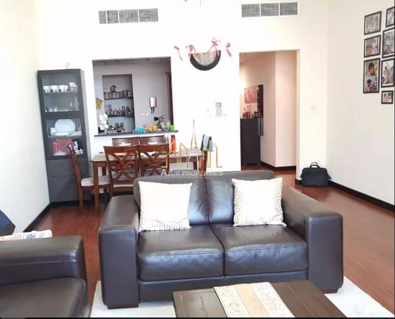 2 2 BR fully furnished  lake  view  + SHK Zayed road facing