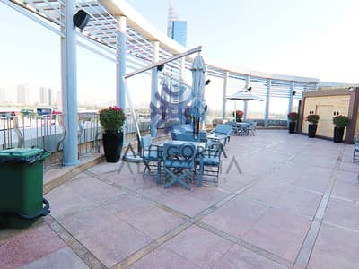 Shop for Rent in Dubai Media City, Dubai - Stunning rooftop pool bar and events space