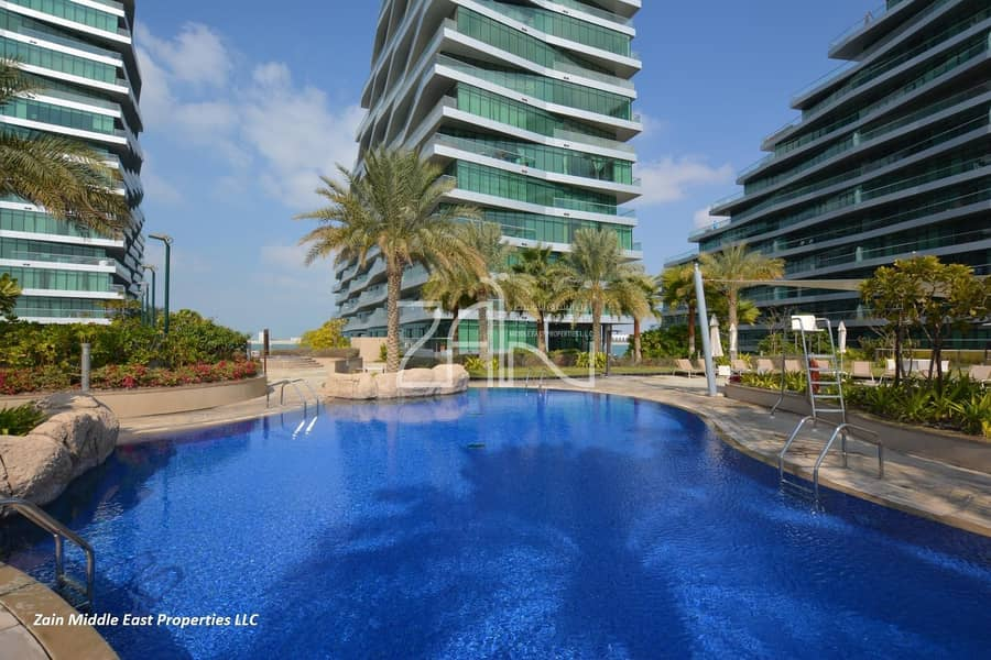 13 Sea View 2 BR Apt with Balcony Well Maintained