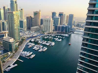 1 Bedroom Apartment for Rent in Dubai Marina, Dubai - Good located in the Marina / Very Bright