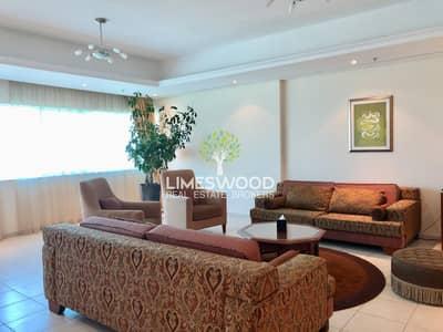 شقة فندقية 3 غرف نوم للايجار في دبي مارينا، دبي - Spacious 3br plus maid hotel apartment in Marina