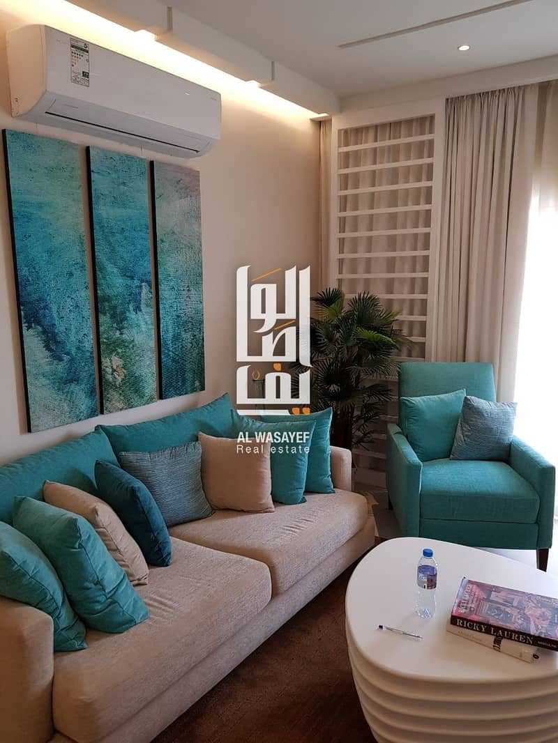 1 Luxury furnished studio with installments in JLT