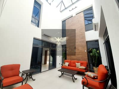 5 Bedroom Villa for Rent in Yas Island, Abu Dhabi - Highly modified Semi furnished landscaped villa