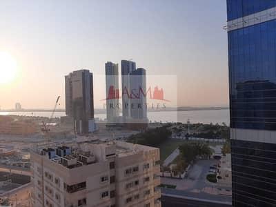 فلیٹ 1 غرفة نوم للايجار في المیناء، أبوظبي - HOT OFFER..!! 1 Bedroom flat /Basement Parking/SeaView 50k only..!!