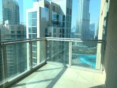 شقة 2 غرفة نوم للايجار في وسط مدينة دبي، دبي - Fountain View|Well Priced|Cheapest Option