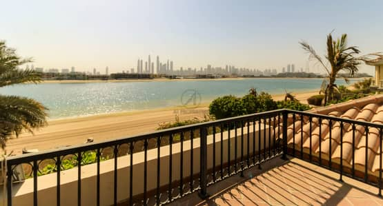 فیلا 5 غرف نوم للايجار في نخلة جميرا، دبي - Luxury 5BR Signature Villa Private Swimming Pool