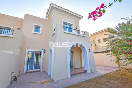 فیلا 3 غرفة نوم للايجار في المرابع العربية، دبي - Vacant | Single row | Type 2E | Maid | Study