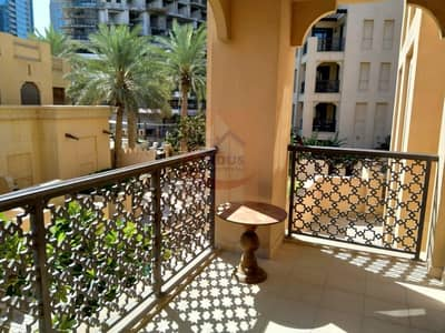 شقة 2 غرفة نوم للايجار في المدينة القديمة، دبي - Community view | 2BR | Fully Furnished | Zanzabeel