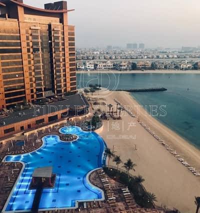 1 Bedroom Apartment for Sale in Palm Jumeirah, Dubai - Full Sea view | Big Balcony | High floor