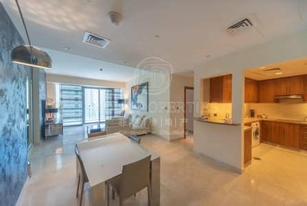 فلیٹ 2 غرفة نوم للبيع في دبي مارينا، دبي - Upgraded High Floor | Full Sea and Marina View