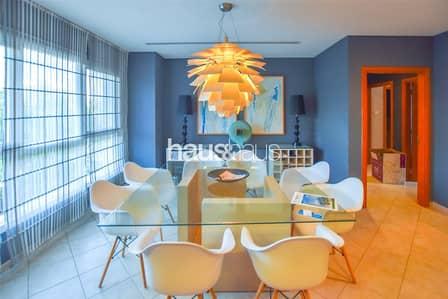 فلیٹ 3 غرف نوم للبيع في موتور سيتي، دبي - Amazing Views | 2nd Floor | Large 3 Beds