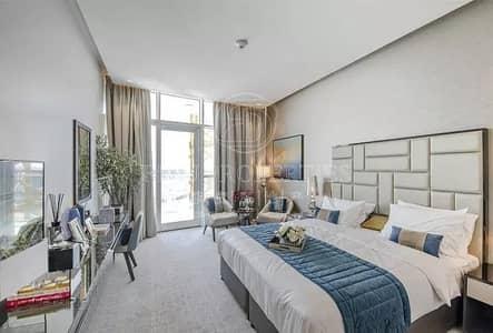 Studio for Sale in DAMAC Hills (Akoya by DAMAC), Dubai - Golf Course View | Furnished | Near Completion