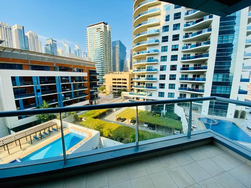 Pool View /Rented 2BR in Marina /Investor's deal