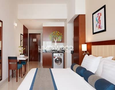 Hotel Apartment for Rent in Dubai Sports City, Dubai - Deluxe Studio Hotel Apartment in Dubai Sports City