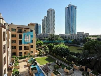 فلیٹ 2 غرفة نوم للايجار في ذا فيوز، دبي - Bright Spacious 2 bedroom + Study   Lake Views