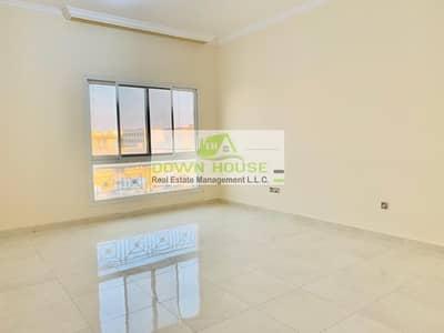 Studio for Rent in Khalifa City A, Abu Dhabi - Awesome spacious studio w/ separate kit near khalifa market .