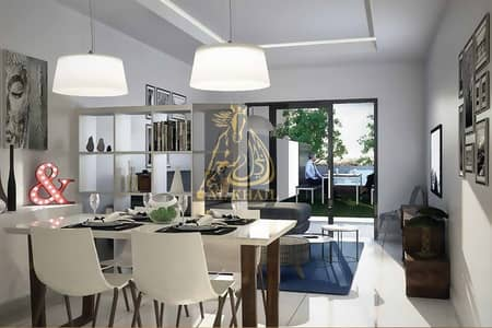 2 Bedroom Apartment for Sale in Jumeirah Village Triangle (JVT), Dubai - Own a Classy 2BR+Maids+Balcony with Private Garden in JVT   Pay 20% and Take Handover  Pay 80% Bal in 3Yrs Post Handover