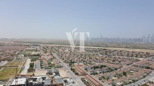 فلیٹ 2 غرفة نوم للايجار في مثلث قرية الجميرا (JVT)، دبي - Immaculate|Furnished|High Floor|Marina View