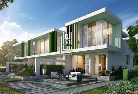 فیلا 3 غرف نوم للبيع في أكويا أكسجين، دبي - Luxury three-bedroom villa in installments over four years