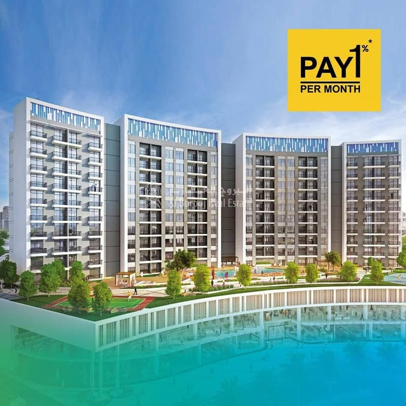 Live Big and Pay 1% Monthly at Wavez by Danube