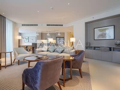 شقة 3 غرف نوم للايجار في وسط مدينة دبي، دبي - Luxurious 3 Beds with Burj Khalifa View!
