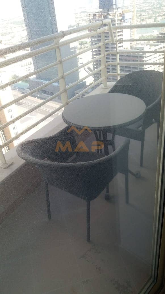 10 Huge 2bhk on high floor with balcony close to metro