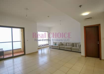 3 Bedroom Apartment for Rent in Jumeirah Beach Residence (JBR), Dubai - 4 Chqs Option Big Size Courtyard View 3 Bedroom Apartment