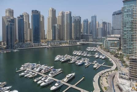 فلیٹ 2 غرفة نوم للبيع في دبي مارينا، دبي - Large 2br with Storage I Marina View I Close to Metro