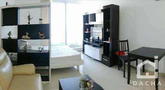 استوديو  للايجار في دبي مارينا، دبي - High Floor / Furnished and Modern Studio