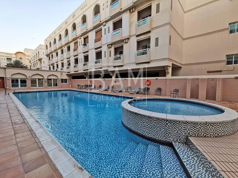 Large 2 BR Apt with Maid Room Near Metor For Rent in Al Qusais