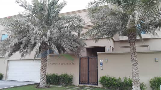 5 Bedroom Villa for Rent in Mohammed Bin Zayed City, Abu Dhabi - Western Style 5 Master Bedroom villa with private pool & garden, Separate Entrance near Mazyad mall at Mbz