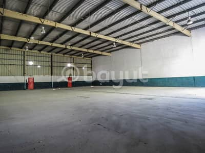 Warehouse for Rent in Al Quoz, Dubai - Commercial/ Storage warehouse is available at Prime location !!!