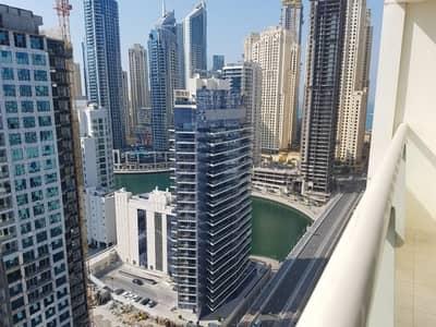 فلیٹ 2 غرفة نوم للايجار في دبي مارينا، دبي - Fully furnished | High floor | 2 bedroom for Rent in Marina view Tower
