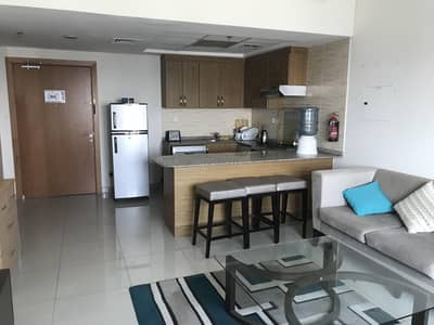 1 Bedroom Apartment for Rent in Downtown Jebel Ali, Dubai - Best Price Furnished One Bedroom with balcony