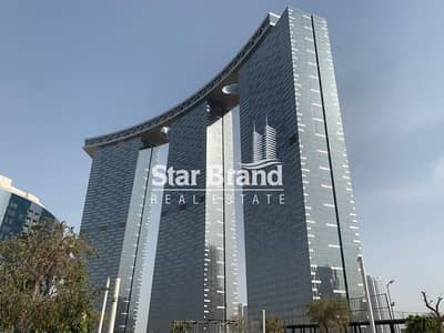 2 Bedroom Flat for Rent in Al Reem Island, Abu Dhabi - EXCEPTIONAL 2 BEDROOM PLUS STUDY IN GATE TOWER FOR RENT